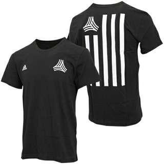 全新adidas TANGO CAGE STREET TEE Size M black 黑色 logo tshirt