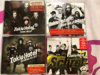 Tokio Hotel CD collection