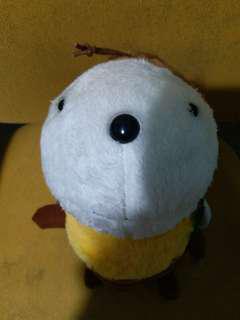 happy ruru蜜蜂公仔,marsh mal low,多啦a夢,monchichi的布甸狗套裝,Marie,sanrio characters