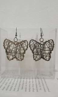 Butterfly earrings HANDMADE