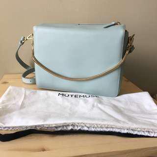 Korea💙MuteMuse shoulder bag light blue