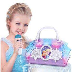 Disney Frozen Cool Tunes Sing-Along Boombox With Microphone With Built In In Tunes or Connect Your MP3