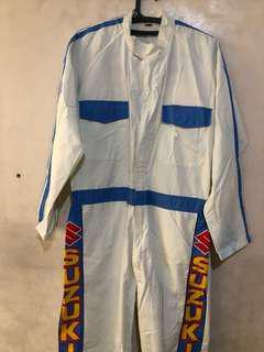 Racer/racecar driver costume Suzuki original
