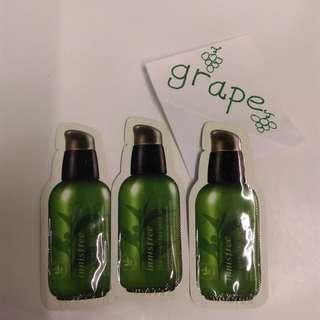 Innisfree green tea seed serum 1ml sample