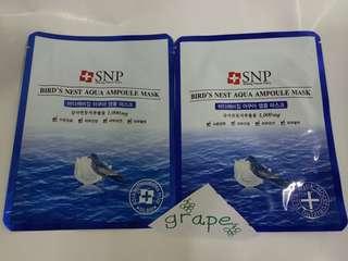 韓國 SNP Mask 燕窩 面膜