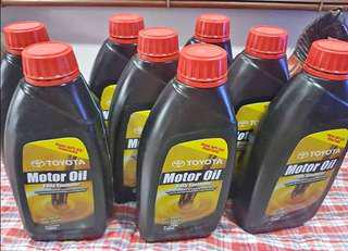 Toyota Fully Synthetic Motor Oil 50-w40