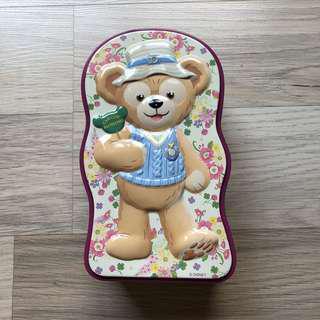 日本迪士尼春季限定達菲餅乾鐵盒