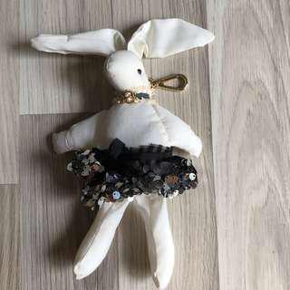 韓國手工蕾絲亮片芭蕾舞兔子