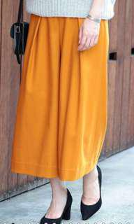 Beauty and Youth mustard skirt pants