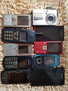 Old phones .. collector's item