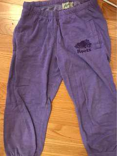 ROOTS CROPPED SWEATPANTS