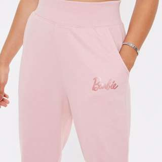 MISSGUIDED x BARBIE rose/pink joggers