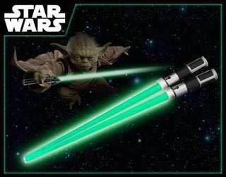 Master Yoda's Lightsaber LED