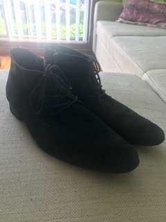 Politix navy dress shoes