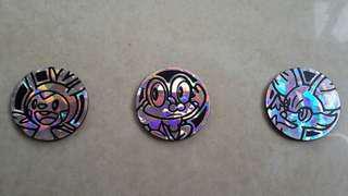 Chespin, froakie, fennekin pokemon flip coins