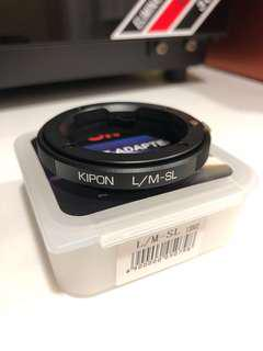 Kipon L/M-SL Mount Adapter