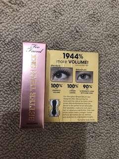 Mini two faced mascara