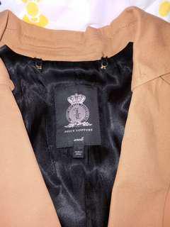 juicy couture top dark brown