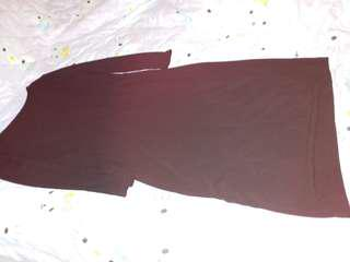 dress black silk