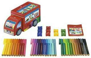 Connector pen truck Faber castell 33 warna
