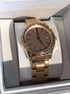 ORIGINAL FOSSIL WATCH FROM U.S WITH OFFICIAL STORE GIFT RECEIPT