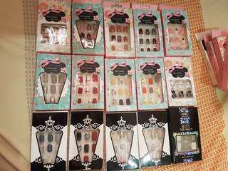 New Stock! Press on Nails / Fake Nails (Nail glue included)