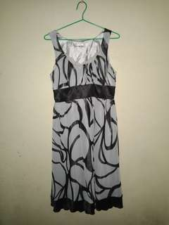 Shapes Sleeveless Dress fits medium