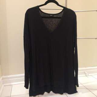 Mexx black v-neck sweater