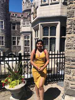 Yellow/Mustard Summer Dress