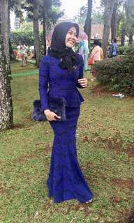 Zalia Blue Dress
