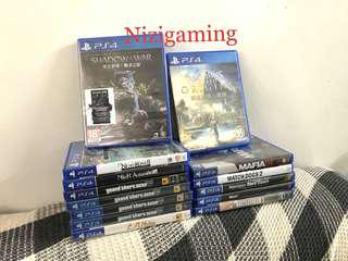 PS4 games used/new for sale