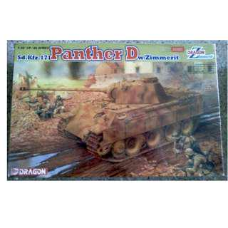 DML 1/35 - Panther Ausf.D w/Zimmerit Coating Model Kit