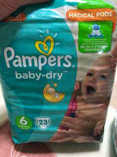 Pampers Baby-Dry Diaper - XL (15kg/33lbs)