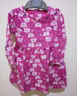 #jualanibu Dress Mothercare Kitty