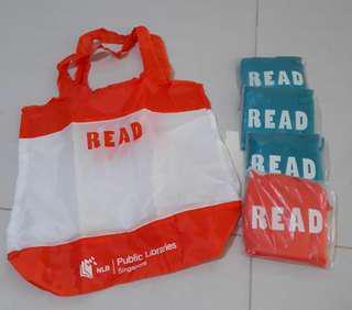 3@$1 NLB tote bag