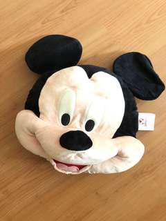 Mickey Mouse face plush from Disneystore