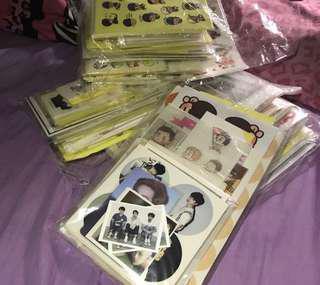 Free Exo Mix Stickers set to Buyer who buy my exo merchandise~