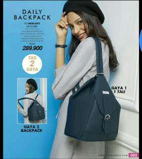 Backpack + totebage