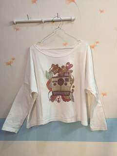 Polaroid Sweet Shirt (long) crop