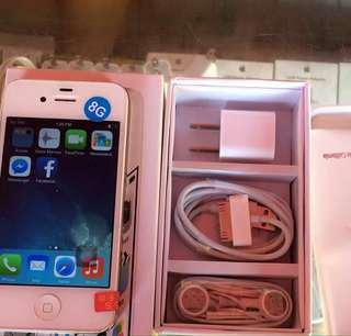 Iphone 4s 8GB Factory Unlocked