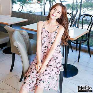 Korean A-line Summer Dress
