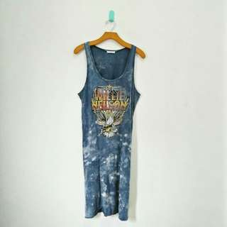 Willie Nelson Tanktop Dress