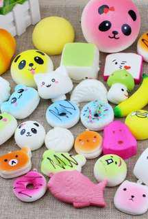 💕💕Squishy 15+1 pcs random
