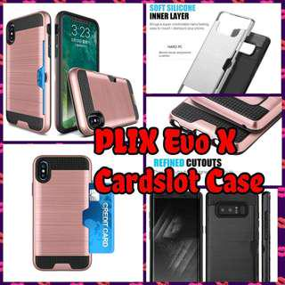 🚚 PLIX Evo X Elite Card Case Casing Cover