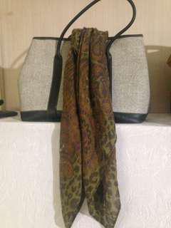 scarf paisley