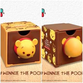7-11 Disney Tsum Tsum百變組合BOX Winnie the Pooh 前 後