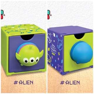 7-11 Disney Tsum Tsum百變組合BOX 三眼仔 前後