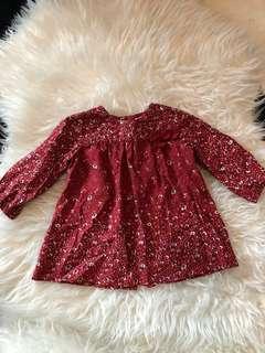Zara dress size 3-6 month