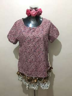 Korean Blouse XL
