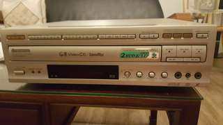Pioneer laserdisc player gold - just serviced in mint condition